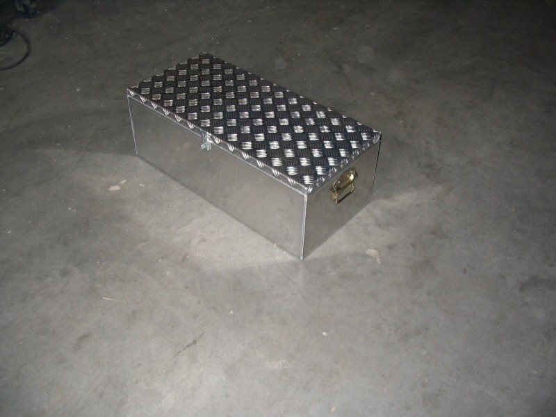aluminium gereedschap kist
