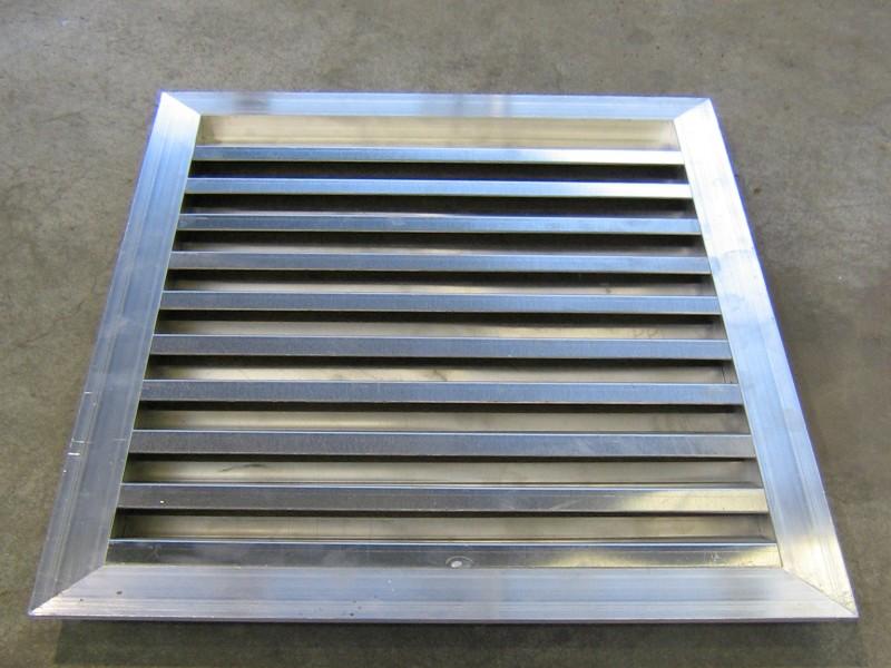 aluminium gevelrooster op maat gemaakt