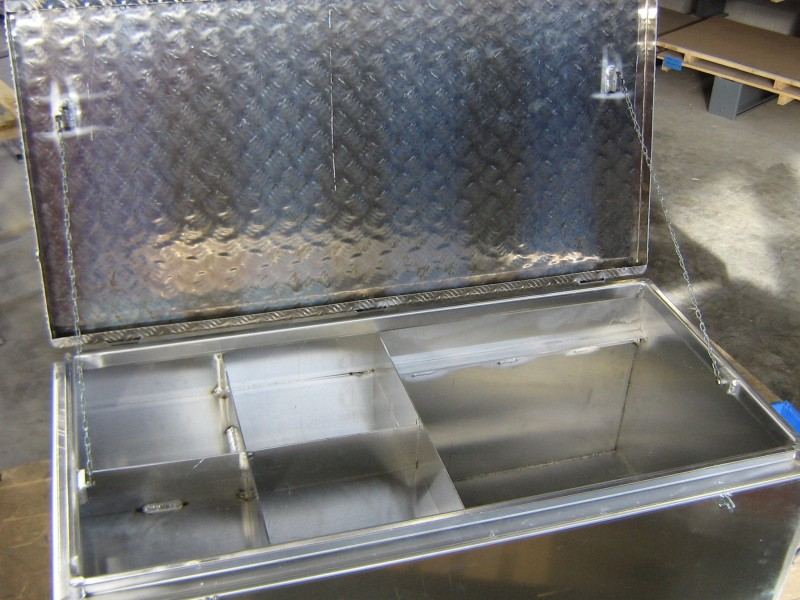 aluminium gereedschap kist binnenzijde