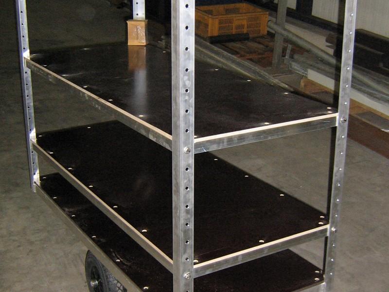 Aluminium plantenwagen