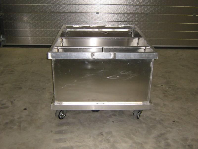 waterstortbak aluminium