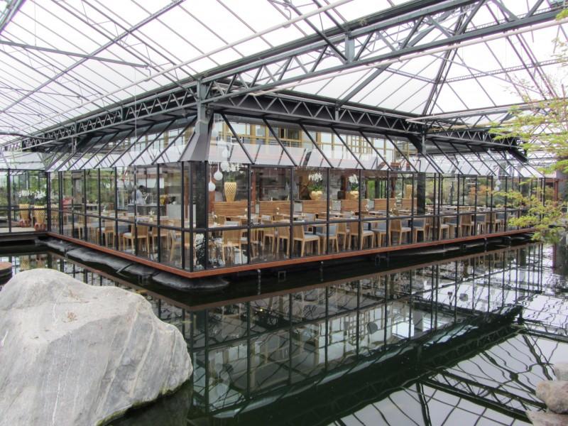 Batist glasoverkapping Watertuin Naaldwijk