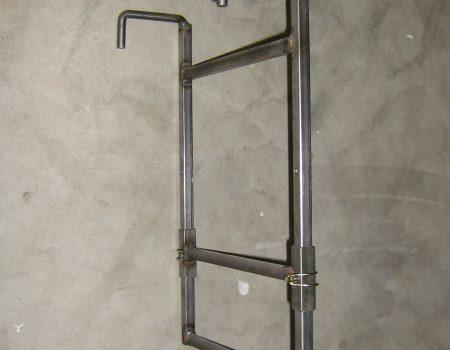 Venlo beglaashaak staal 600x400 3 kg hoogte verstelbaar