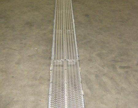 Batist lichtgewicht beglaasplank met strekmetaal