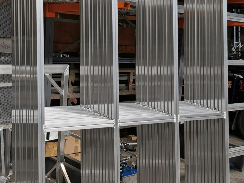 Aluminium frame op maat