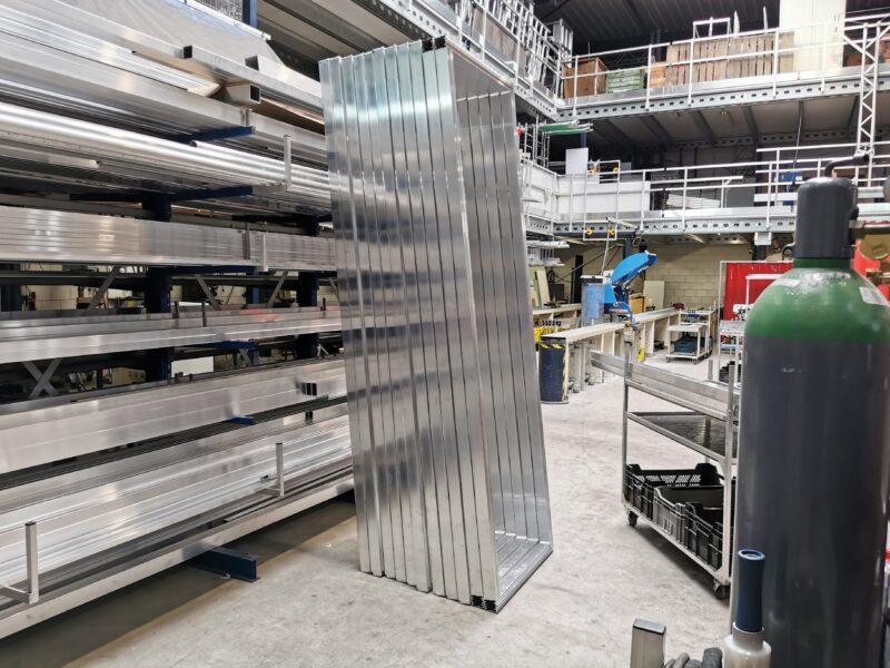Aluminium frame maatwerk serieproductie