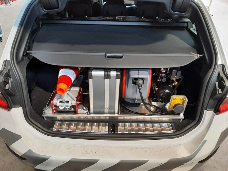 BMW Pechhulp achterbak indeling op maat
