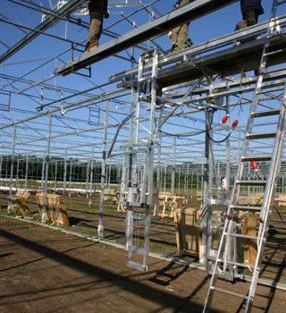 Batist Venlo glasshouse hanging glazing machine 3.20m and 4.00m size, pic. 2