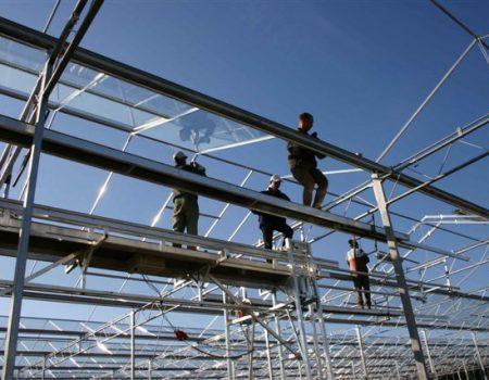 Batist Venlo glasshouse hanging glazing machine 3.20m and 4.00m size, pic. 1