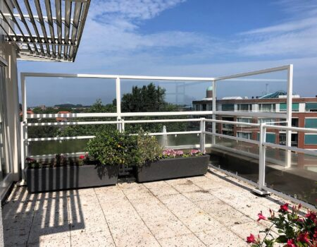 Balkonscherm Naaldwijk appartement